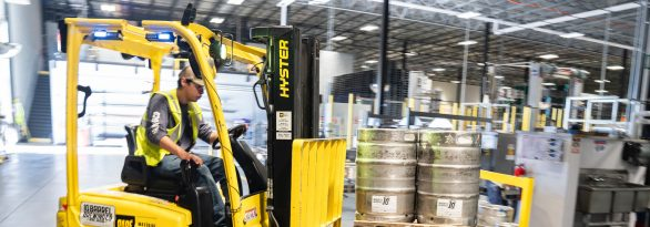 Forklift truck safety from Axa