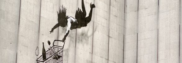 The artist known as Banksy